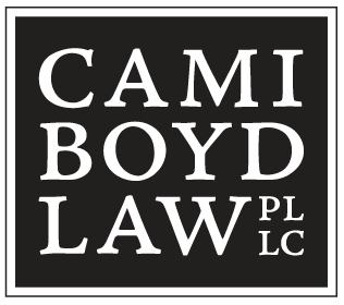 Logo for Cami Boyd Law, PLLC
