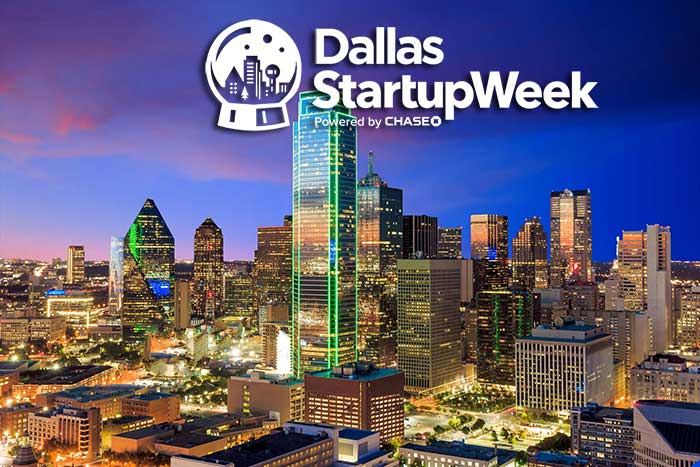 Logo for Dallas Startup Week 2016