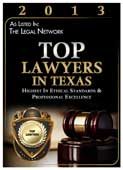 Cami Boyd named a Top Texas Lawyer in 2013 by The Legal Network